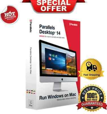Parallels Desktop 14 for Mac | Open Windows on Mac | [Instant Delivery]
