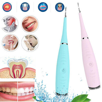 Ultrasonic Tooth Cleaner Dental Calculus Remover Whitening Electric Tooth Scaler