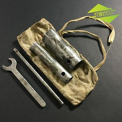 Vintage Ww2-Era Motorcycle? Bicycle Tool Kit Tube Spanners Wrench Bsa