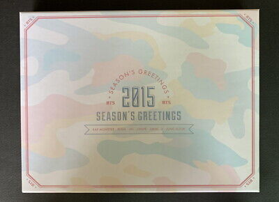 BTS Bangtan Boys 2015 Season's Greetings Full Package NM- CONDITION