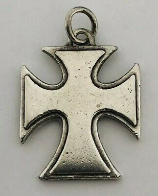 Vintage James Avery Sterling Silver Cross Pendant With Light Dents And Scratches