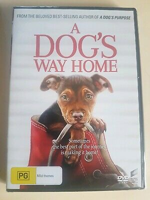 A Dog's Way Home (DVD 2019) NEW SEALED