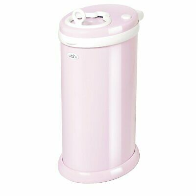 Ubbi Nappy Bin Diaper Pail Light Pink