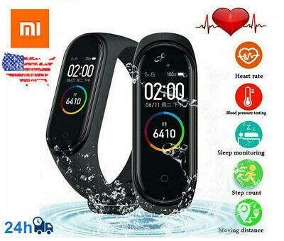 Original NEW Xiaomi Mi Band 4 Fitness Pedometer Heart Rate Smart Watch GEN 4 xp