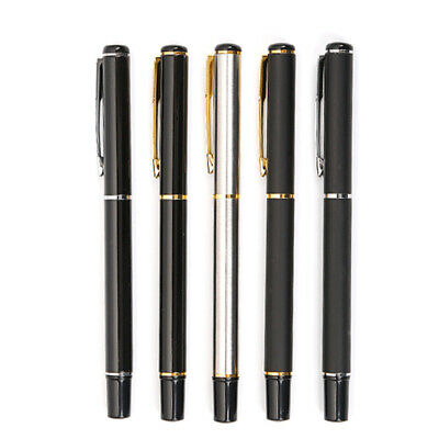 Stainless Rollerball Office School Writing Metal Pen0.5/0.7mm  Ballpoint signing
