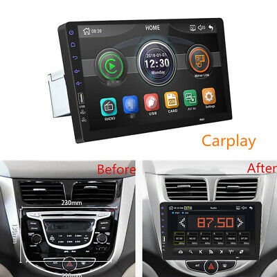 "Universal 9"" 1Din Auto Stereo Radio MP5 Player FM Touchscreen for iPhone CarPlay"