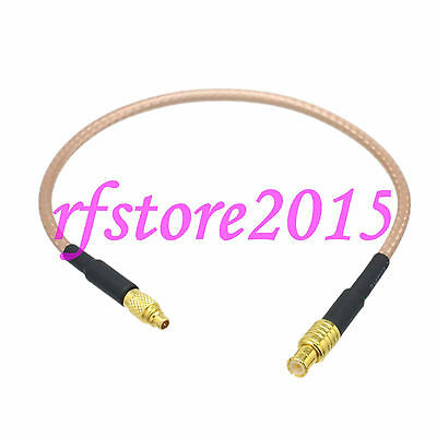 Cable RG316 6inch MCX male plug to MMCX male plug Straight RF Pigtail Jumper
