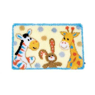 Vervaco Latch hook rug kit Furry friends, DIY