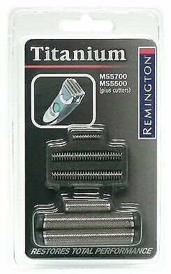 Replacement Shave Foil Cutter Pack Grooming Part Titanium Coating Remington New