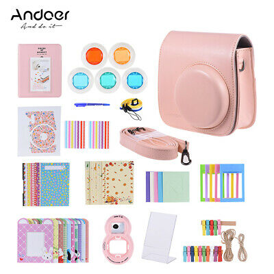 Andoer 14 in 1 Accessories Kit for Fujifilm Instax Mini 8/8+/8s/9 with H3R0
