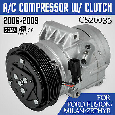 HQ AC Compressor /& A//C Clutch For Kia Rondo 2007 2008 2.7L 97701-1D300 Look