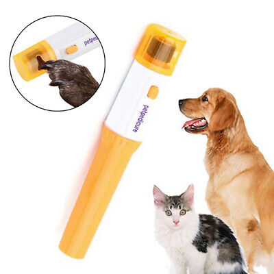 Pet Dog Cat Electric Nail Grooming Grinder Safe Trimmer Clipper Pet Claw Newest