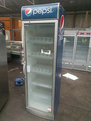 Single door display chiller branded Pepsi 100 day warranty free delivery