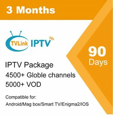 3 Months Europe USA Canada UK French IPTV Subscription 4700 Live