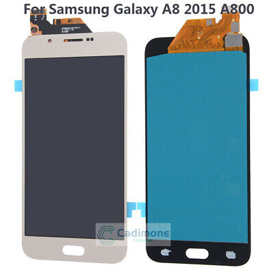 LCD Schermo Per Samsung Galaxy A8 2015 A800 Touch Screen Display Assembly Gold H