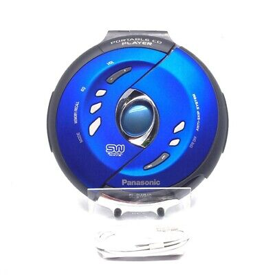 Panasonic Shockwave Water Resistant Portable CD Player - Blue (SL-SW940)