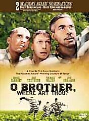O BROTHER WHERE ART THOU Oh on DVD BRAND NEW!
