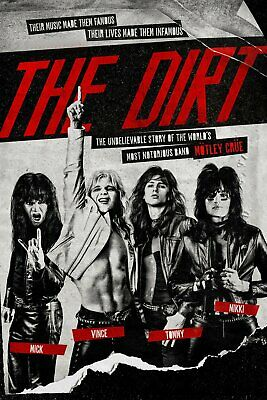 Motley crue, The dirt DVD. Sealed with free delivery.