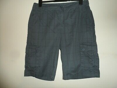 """Bnwt new Tweed River grey checked shorts waist size 36"""""""