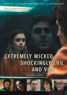 Extremely wicked shockingly evil and vile DVD. Sealed with free delivery.