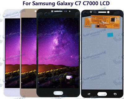 LCD Écran OLED Pour Samsung Galaxy C7 C7000 Display Touch Screen Assembly H2FR