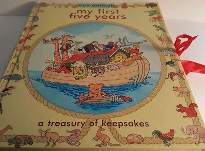 My First Five Years - A Treasury of Keepsakes  (ark animals)