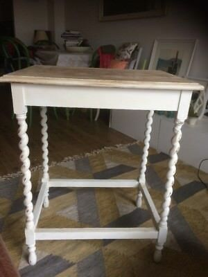 Victorian Hall Table With Spiral Legs Shabby Chic
