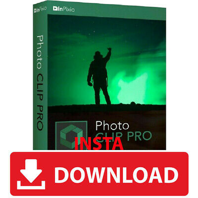 Inpixio Photo Clip 9 Pro Full Version Photo Editor Instant delivery Global