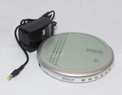 Panasonic Portable Personal CD Player - Silver - VGC (SL-CT700P-SA)