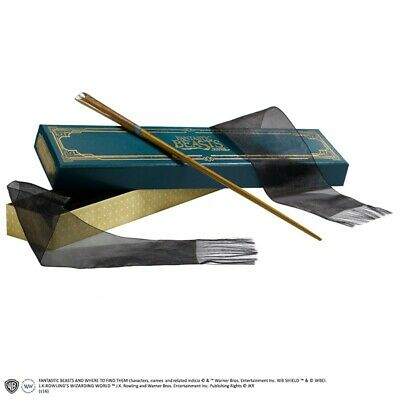 Harry Potter Fantastic Beasts Scamander Wand Replica Bacchetta Noble Collections