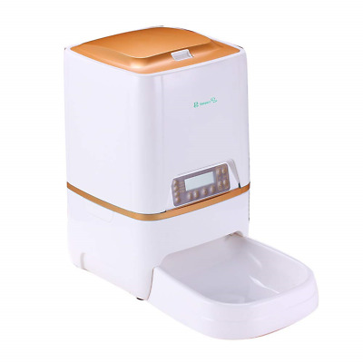 BELOPEZZ 6L Smart Pet Automatic Feeders for Dog and Cat Food Dispenser with Up 4