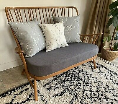 Ercol 1913/2 Evergreen Sofa - New Cushions and Covers - FREE DELIVERY*