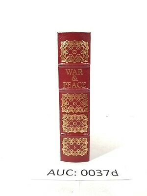 Easton Press: War and Peace by Leo Tolstoy, Collector's Edition :37c