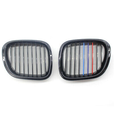 M Color Gloss Black Fit for BMW Z3 96-02 Car Front Performance Grille Grill New