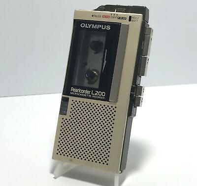 Olympus L200 Pearlcorder Microcassette Voice Recorder (504544)