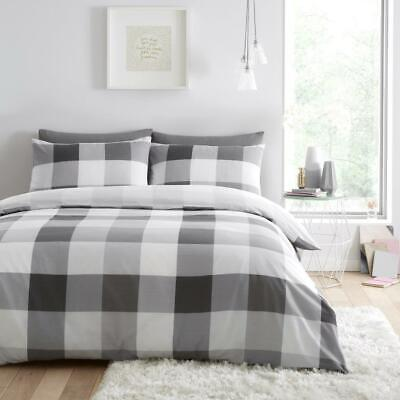 Cosmic Check  Luxurious Duvet Covers Quilt Cover Reversible Bedding Sets