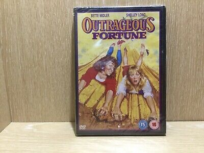 Outrageous Fortune DVD New and Sealed Bette Midler Comedy