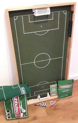 Custom Made Wooden Subbuteo Football Soccer Pitch Table Top Team Edition Exc Con