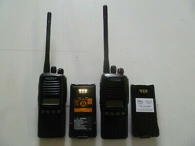 Lot of TWO Kenwood TK-2180-K 136-174 MHz VHF Two Way Radios TK-2180 y328