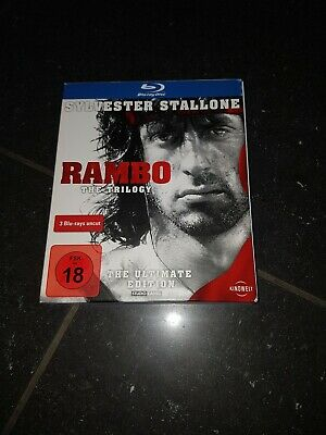 Rambo - The Trilogy (The Ultimate Edition) (Uncut) [Blu-ray***Neuwertig***