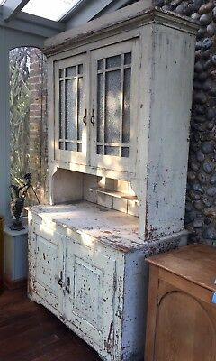 French Dresser Painted Distressed Aged/Shabby Chic Antique Dresser
