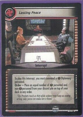 Lasting Peace - Interrupt - Star Trek CCG - Customizable Card Game Englisch