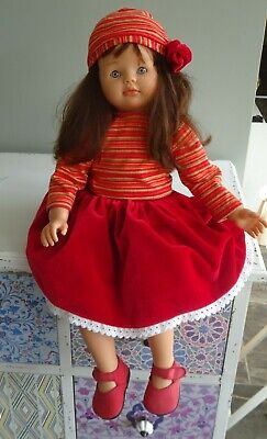 Asi doll, from Spain, 55cm tall with soft body - removable clothes