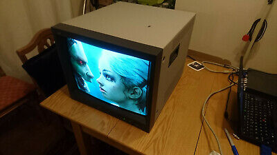 "JVC TM-H1900G 19"" Professional CRT 750TVL Video Monitor 16:9 & 4:3 S-Video PVM"
