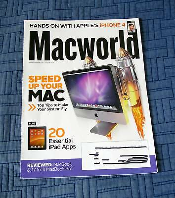 Macworld August 2010