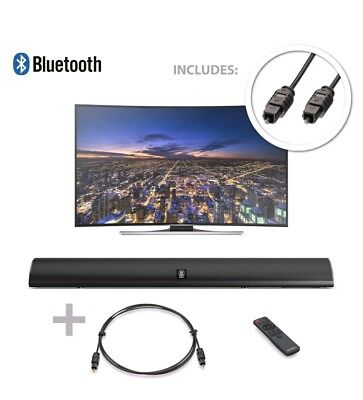 Majority 120W TV Sound Bar with Bluetooth & Optical - Brand New! Sealed!