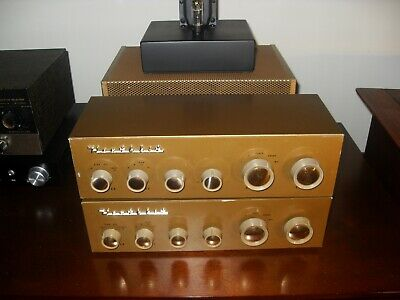 Heathkit Wa-P2 Tube Preamplifiers With Custom Built Power Supply