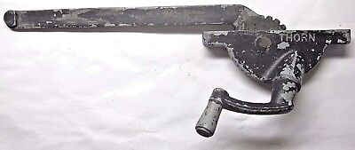 "Vintage 1950s USA Thorn Casement Window Operator Left Hand 8-7/8"" Arm"