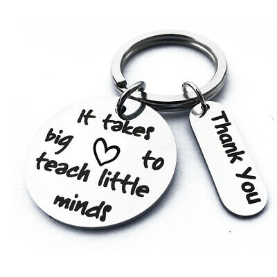 Thank you Gift for Teacher, Teaching assistant, Nursery teacher Keyring lijuzho