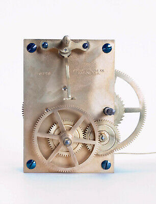 American weight driven banjo clock movement only @ 1920s Original Chelsea